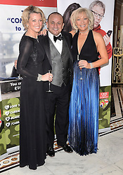 Gillian Taylforth David Fairbairn and Kim Tatlforth attend The Care After Combat Inaugural Ball at The Dorchester Hotel, Park Lane, London on the Tuesday 31st March 2015