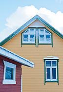 Building details, Senja, Norway