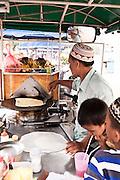 Roti vendor near Cape Panwa, Phuket.