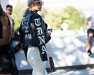 Leather Jacket, Outside Yeezy Season 4