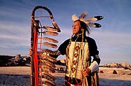 The late Ron Hawks, Lakota near Fort Robinson, Nebraska, USA