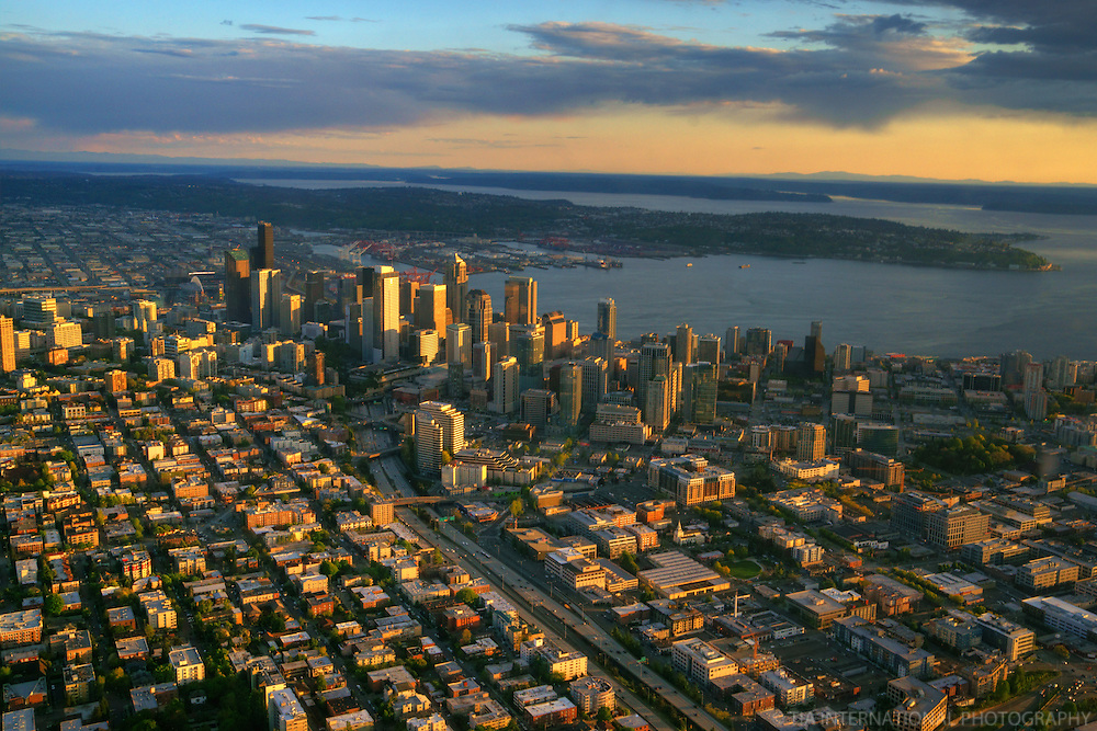 Downtown Seattle @ Sunset
