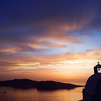 """""""Late afternoon"""" hike from Oia to Firostefani"""