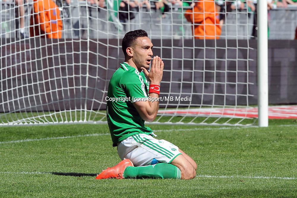 Mevlut ERDING  - 12.04.2015 - Saint Etienne / Nantes - 32eme journee de Ligue 1 <br />Photo : Jean Paul Thomas / Icon Sport