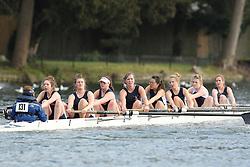 2012.02.25 Reading University Head 2012. The River Thames. Division 1. Royal Shrewsbury School Boat Club WNov 8+