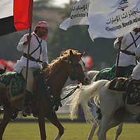 grand final of president cup, polo, uae, ghantoot poloclub, 1 april 2011.ghantoot wins the grand final against adcb 4 to 3