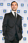 """Frankie Alvarez, actor starring in HBO's """"Looking"""" at the HRC's Greater NY Gala 2014 held at the Waldorf=Astoria in New York City on Saturday, February 8, 2014. (Photo: JeffreyHolmes.com)"""