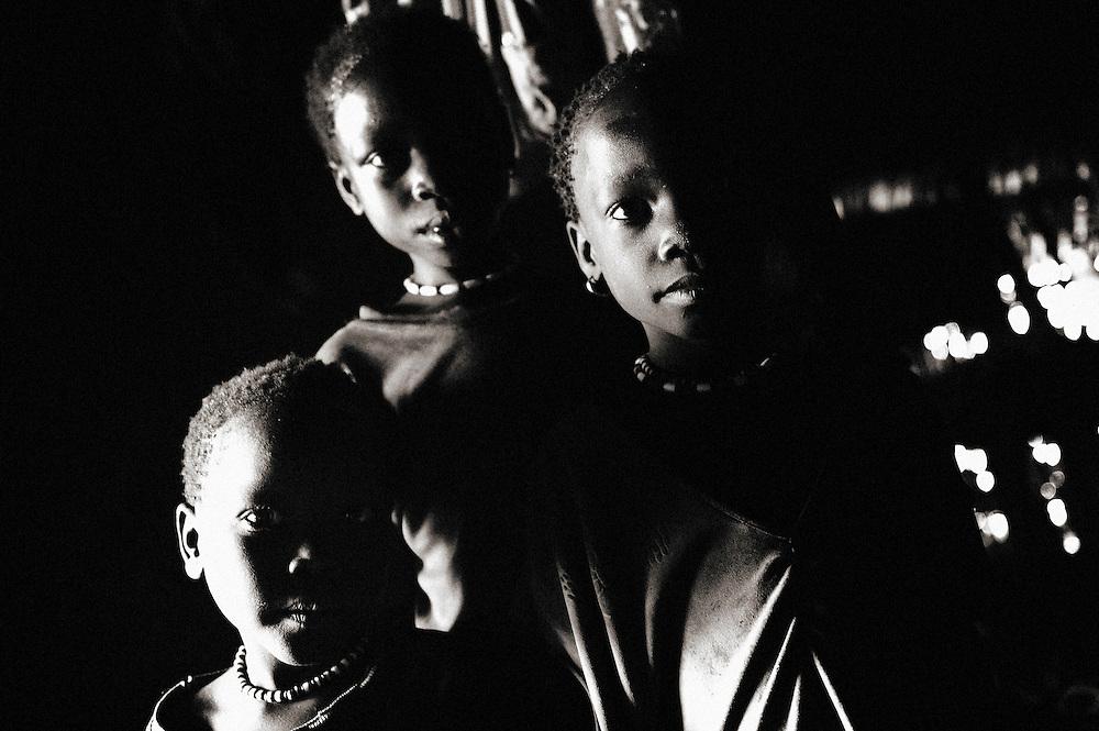 Dago, Dago, Gublak, Ethiopia, children Gumuz, Gilgel, Blese, valley, Africa, Ethiopia, Sudan border Beles