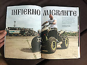 Vice Magazine (Mexico edition, Fall 2016) - &quot;This ATV-Riding Immigrant Hunter Is the New Face of Europe's Far Right&quot;.<br /> <br /> Originally published in the June 2016 issue of Vice Magazine (US).<br /> <br /> Online: https://www.vice.com/en_us/article/migrant-hell-v23n4