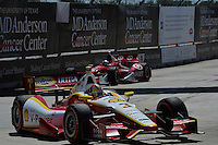 Helio Castroneves, Shell and Pennzoil Grand Prix of Houston, Streets of Reliant Astrodome, Houston, TX USA 10/05/2013