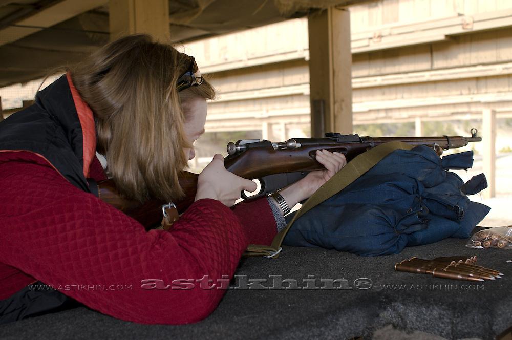 Shooting in turget