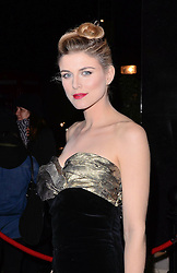 Ashley James attends Helping Hands VIP fundraising Dinner at The Park Lane Hotel, Piccadilly, London on Tuesday 24.3.2015