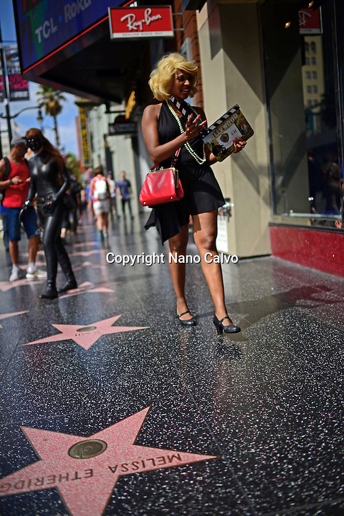 Hollywood Walk of Fame, Los Angeles, California.