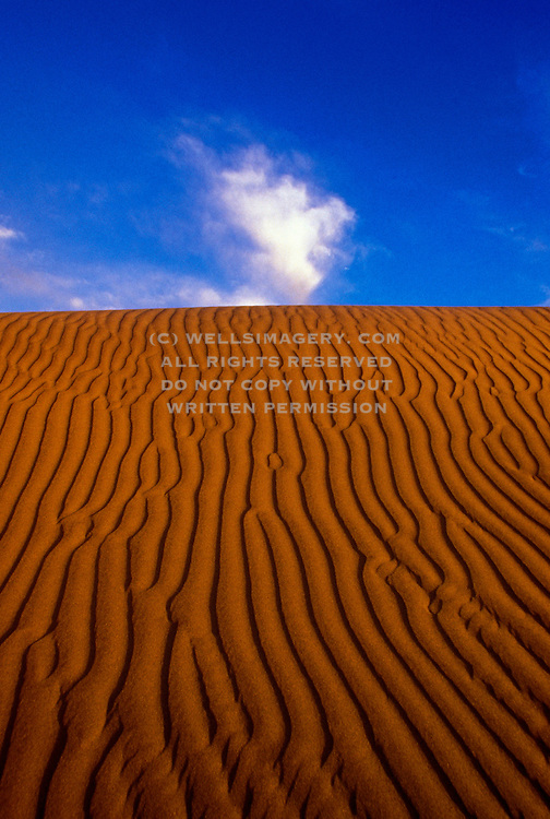 Image of sand dunes at Death Valley National Park, California, American Southwest