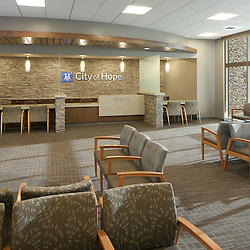 Antelope Valley Hospital by HGA -  Photography by Tom Bonner  -  Job ID 6043