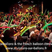 TB & The French Balloon Connexion : 20000 ballons sur scène