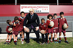SEP 05 2013 Mayor of London launches new sports facility in Croydon