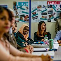 Refugies, apprendre le français pour s'integrer