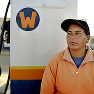 Warmi Sayajsungo is a women's organization based in Argentina that helps women become self-sufficient. Rosario Quispe, who has seven children, and is the wife of an unemployed miner, founded the organization of indigenous Coya in 1995, called Warmi Sayajsungo, which in quechua means Women's Perseverance.Rosario had an ambitious dream for the Coya people who lived high on the arid plateau where Argentina and Bolivia meet, in the shadow of the Andes. That dream was that one day they would live in dignity on the fruits of their own work. They are taught skills and given micro credits to help their small businesses prosper.Each person photographed has their own story to tell about their life now and how the organization changed their lives for the better.