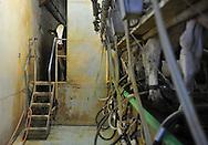 07/05/15 - SAINT BONNET DE CHIRAC - LOZERE - FRANCE - GAEC des Bleuets, elevage mixte bovin/ovin lait. Salle de traite - Photo Jerome CHABANNE
