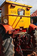 Tractor in Baracoa, Guantanamo, Cuba.