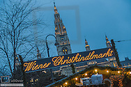 City Hall, Wiener Christkindlmarkt, Christmas Market in Vienna, Austria, Vienna