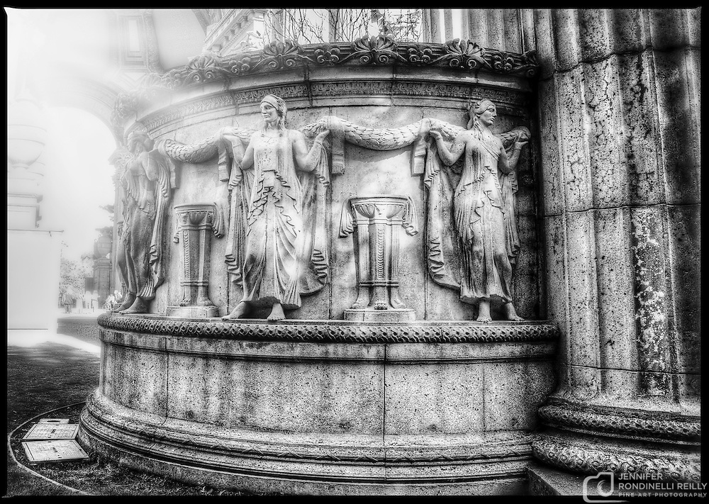 Photo taken at the Palace of Fine Arts in San Francisco, CA.
