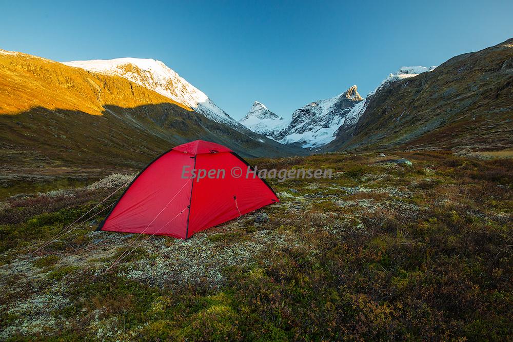Tent in Ringsdalen