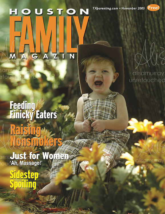 Houston Family November 2005 Cover