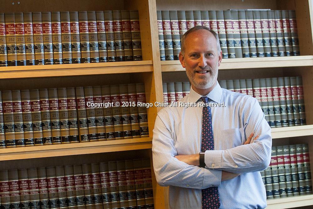 James Laur, Vice President for Legal &amp; Technology Affairs at Cedars-Sinai Medical Center.<br /> (Photo by Ringo Chiu/PHOTOFORMULA.com)