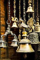 Brassware has always been used in Nepal for various practical and ornamental purposes such as ornately shaped bells and even simple water jugs.
