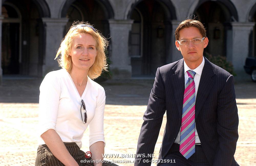 Family photo of the politician, married to Femke Bouma, famous for Avondspits & Leefbaar Rotterdam.