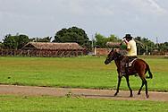 Cowboy in Rafael Freyre, Holguin, Cuba.