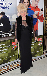 Barbara Windsor attends The Care After Combat Inaugural Ball at The Dorchester Hotel, Park Lane, London on the Tuesday 31st March 2015