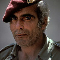 A member of the Fatah soldier of the Palestine Liberation Organization in Lebanon in 1981.
