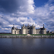 AA00390-01...FRANCE - Chateau de Chambord is the largest of the Loire Valley chateaus.