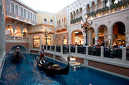 The Grand Canal Gondola Ride at the Venetian Resort Hotel Casino, Las Vegas, Nevada