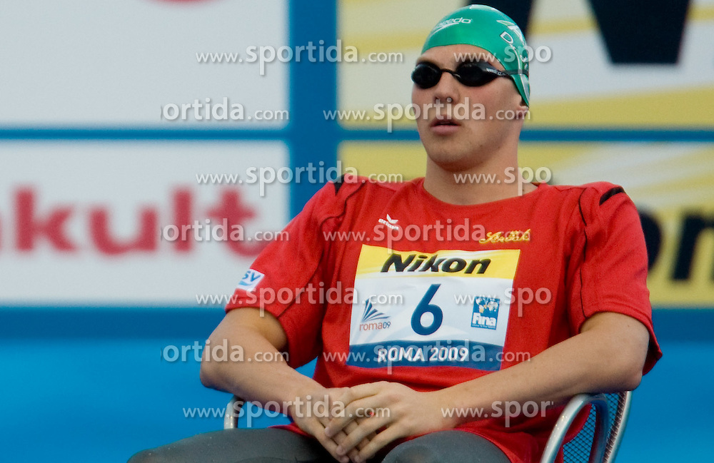 Dinko Jukic of Austria competes during the Men's 200m Butterfly Semi-Final during the 13th FINA World Championships Roma 2009, on July 28, 2009, at the Stadio del Nuoto,  in Foro Italico, Rome, Italy. (Photo by Vid Ponikvar / Sportida)