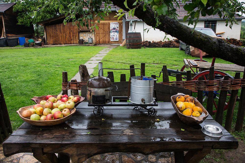 Travel in Serbia<br /> Stanimir Minic at Miniceva Rakija distillery <br /> June 2013<br /> Matt Lutton