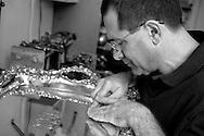 Silversmith Jeffrey Herman, founder of the Society of American Silversmiths