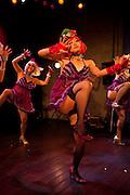 Burlesque show in a club at Kichijoji, Tokyo