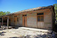 Building in Yara, Granma, Cuba.