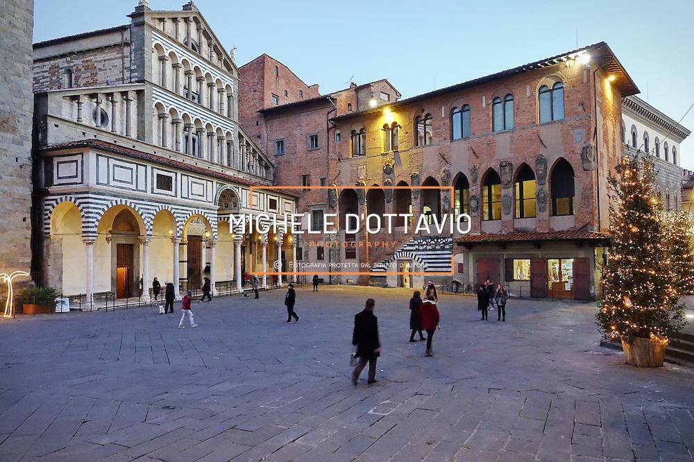 La Cattedrale di San Zeno Piazza del Duomo di Pistoia, Capitale della Cultura italiana 2017