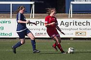 Forfar Farmington under 23s (red) v Tayside Ladies (dark blue) - Scottish Womens' Football League division 1 at Station Park, Forfar<br /> <br />  - &copy; David Young - www.davidyoungphoto.co.uk - email: davidyoungphoto@gmail.com