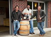 Woodinville Washington wine gang:  Chris Gorman, Chris Sparkman, Mark Ryan