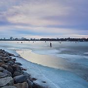 Ice Fishing, Madison, WI