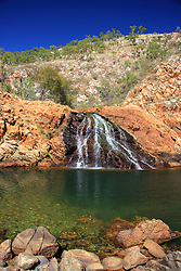 Fresh water flows into Croc Creek, a popular swimming spot with charter boat operators.