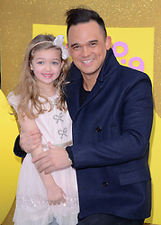 Gareth Gates and Missy attend The Premiere of Peppa Pig: The Golden Boots at The Odeon, Leicester Square, London on Sunday 1 February 2015