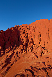 Vibrant pindan meets blue sky at James Prince Point north of Broome.