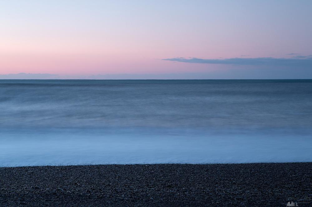 Dawn over Reynisfjara Beach, near Vik